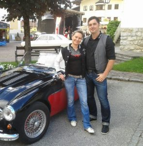 Angelika und Markus vor Asston